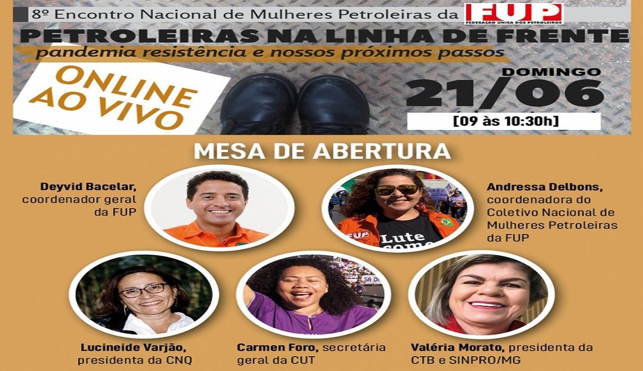 8º Encontro Nacional de Mulheres Petroleiras acontece neste domingo