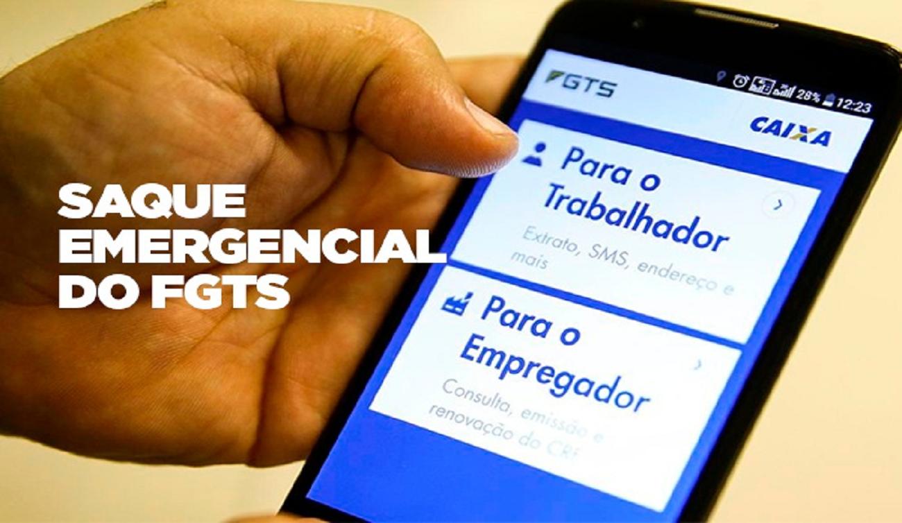 FGTS: Saque emergencial de até R$ 1.045 começa a ser depositado