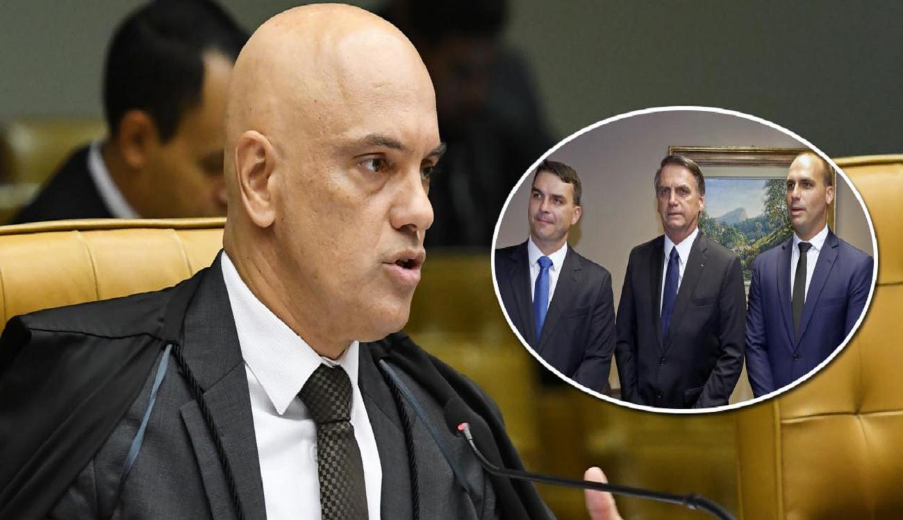 STF envia à PGR notícia-crime contra Bolsonaro e dois de seus filhos