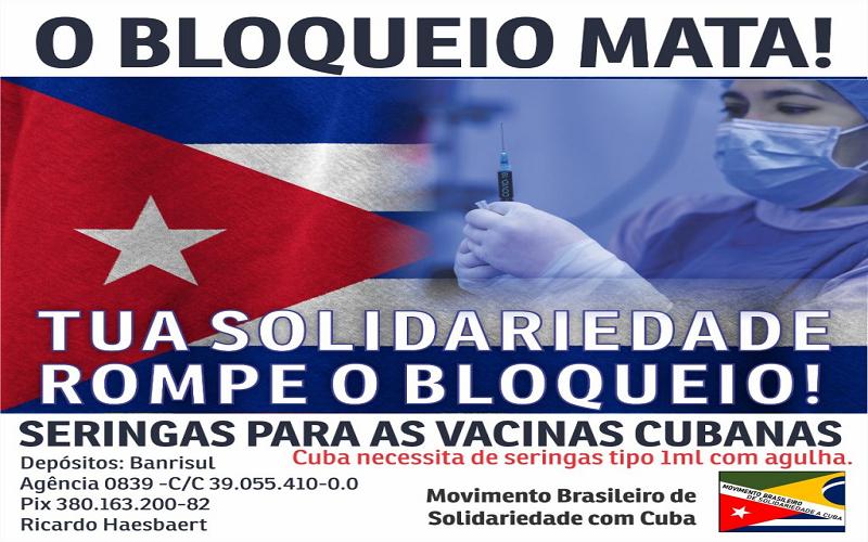 Cuba iniciará imunização em massa com vacinas próprias contra Covid-19