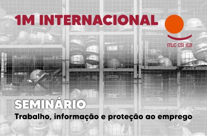 Seminário virtual proporá pacto para proteção ao emprego no mundo